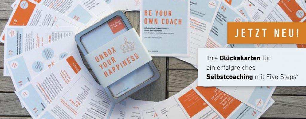 Five Steps® Coaching Shop-Header Glücksbox