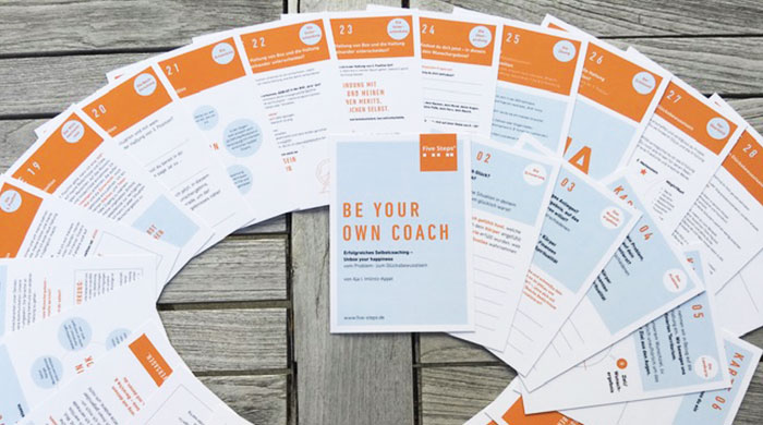 5 Steps® Coaching Kartenset: Unbox Your Happiness