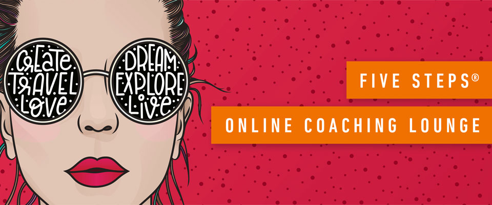 Die Five Steps®Online-Coaching Lounge